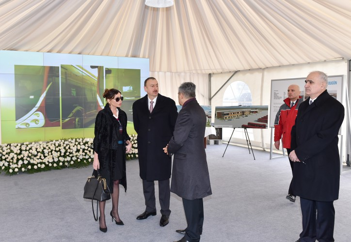 Azerbaijani president, his spouse review work as part of First European Games (PHOTO) - Gallery Image