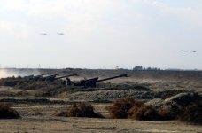 В рамках учений ВС Азербайджана был осуществлен пуск ракет (ФОТО) - Gallery Thumbnail