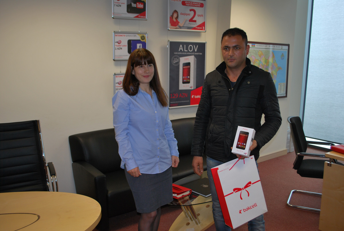 Bakcell awards subscribers who joined ASAN İmza service (PHOTO) - Gallery Image