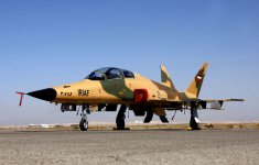 Iran unveils new domestic made jet fighter (PHOTO) - Gallery Thumbnail