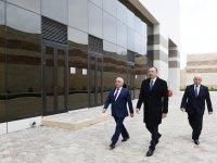 Prezident İlham Əliyev Bakıda bir sıra elektrik yarımstansiyalarının açılışında iştirak edib (FOTO) - Gallery Thumbnail