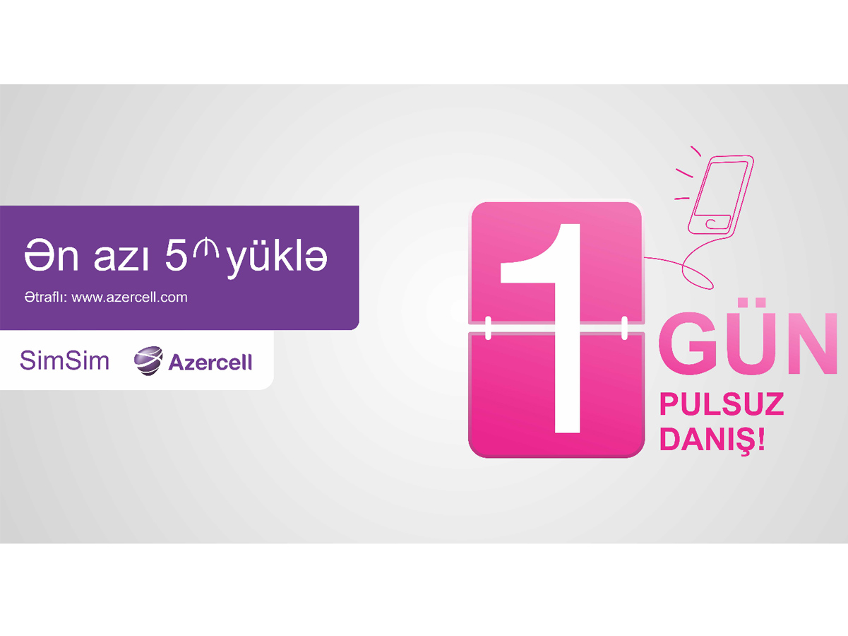 """Azercell launches """"Free Talking Days"""" campaign again"""