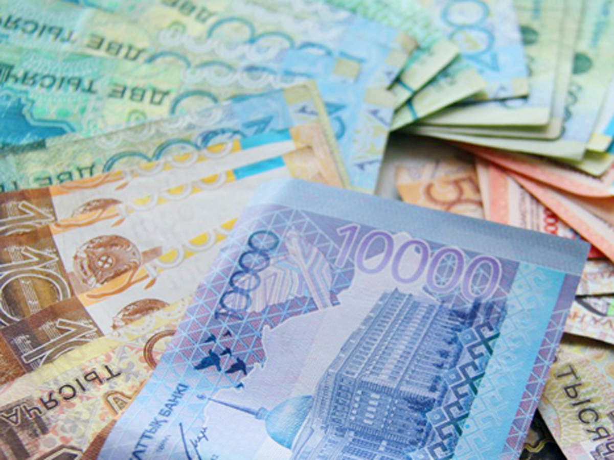 Kazakh currency rate hits record lows