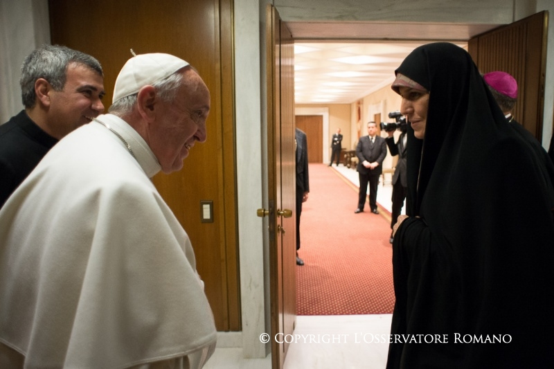 Iran's Vice-President meets Pope Francis