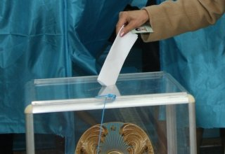 Kazakh citizens in Azerbaijan vote in country's parliamentary election