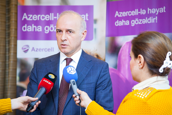 Azercell Telecom's investments in Azerbaijan's economy exceed $2B