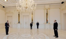 President Ilham Aliyev receives credentials of newly appointed US ambassador - Gallery Thumbnail