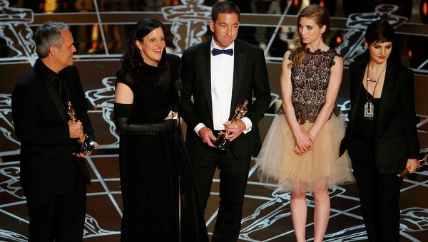 Edward Snowden documentary Citizenfour wins Oscar
