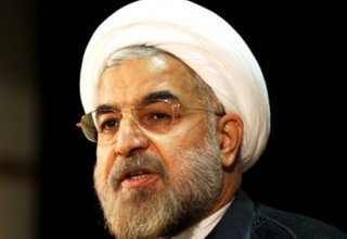 Rouhani says Iranians support co-op with world