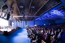 Leyla Əliyeva Xocalı soyqırımının 23-cü ildönümü ilə əlaqədar Moskva şəhərində keçirilən tədbirdə iştirak edib (FOTO) - Gallery Thumbnail