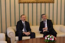 Azerbaijani, Bulgarian presidents hold one-on-one meeting (PHOTO) - Gallery Thumbnail