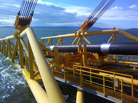 Saipem soon to start laying pipes for TAP on Adriatic Sea bottom