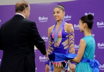 Azerbaijani gymnast wins bronze at championship in Baku (PHOTO) - Gallery Thumbnail
