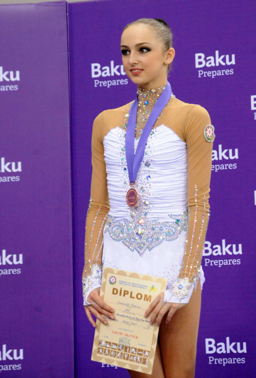 Azerbaijani gymnast wins bronze at championship in Baku (PHOTO) - Gallery Image