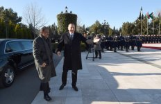 Official welcoming ceremony held in Baku for Pakistan's president (PHOTO) - Gallery Thumbnail