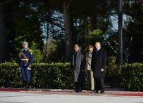 Pakistan Prezidenti Məmnun Hüseynin rəsmi qarşılanma mərasimi olub (FOTO) - Gallery Thumbnail