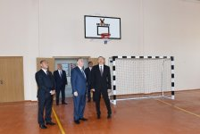 President Ilham Aliyev reviews newly-built residential complex for IDP families in Barda - Gallery Thumbnail