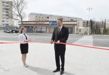 President Ilham Aliyev attends opening of park-boulevard named after Heydar Aliyev in Barda - Gallery Thumbnail
