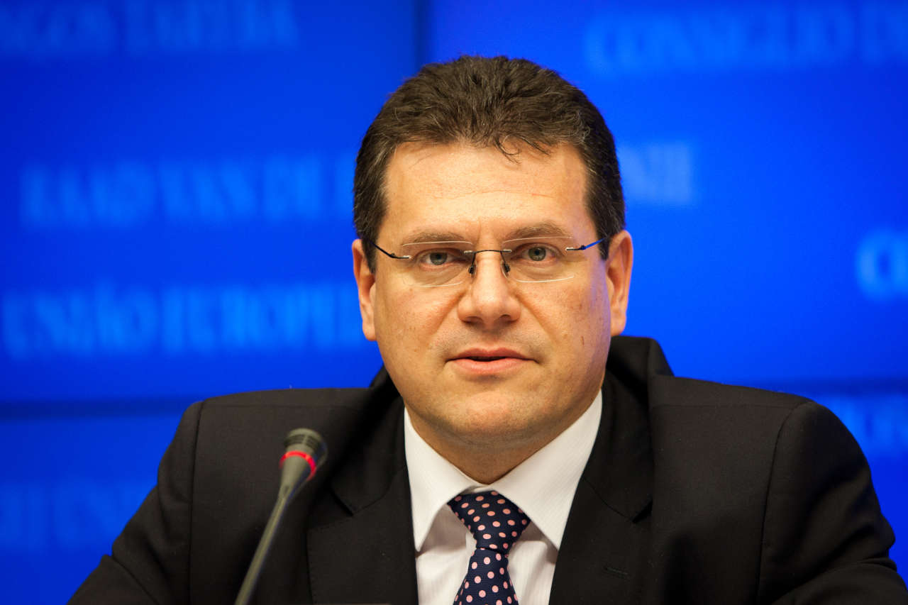 Sefcovic: Trilateral gas talks with Ukraine to affect entire region