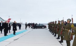 President Ilham Aliyev ended his working visit to Kars (PHOTO) - Gallery Thumbnail