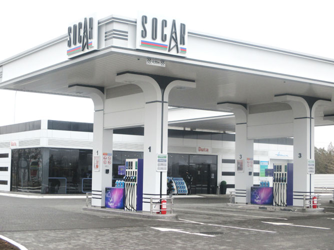 SOCAR expands network of gas filling stations in Ukraine