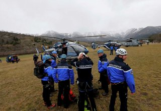 First black box found at Airbus A320 crash site in French Alps