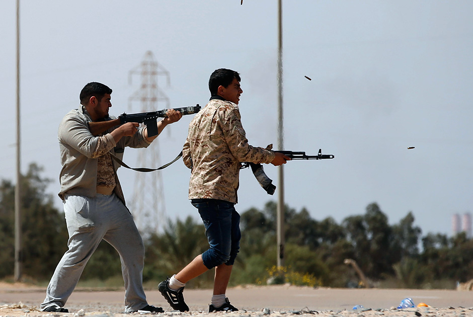 Fighting in southern Tripoli kills 187, more than 1,000 wounded