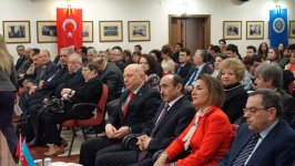Али Гасанов принял участие в конференции, посвященной творчеству Гусейна Джавида (ФОТО) - Gallery Thumbnail