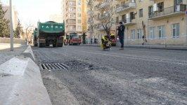 Paytaxtın Şəmsi Bədəlbəyli küçəsi hərəkət üçün 2 gündən sonra açılacaq (FOTO) - Gallery Thumbnail