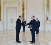 Azerbaijani president receives credentials from ambassadors of several countries (PHOTO) - Gallery Thumbnail