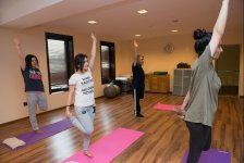 Open class on yoga held for media representatives at Excelsior Hotel Baku - Gallery Thumbnail