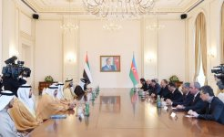 Ilham Aliyev, UAE vice president and PM hold expanded meeting (PHOTO) - Gallery Thumbnail