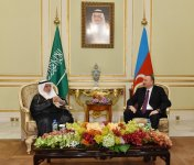 President Ilham Aliyev meets Chairman of the Council of Saudi Chambers (PHOTO) - Gallery Thumbnail