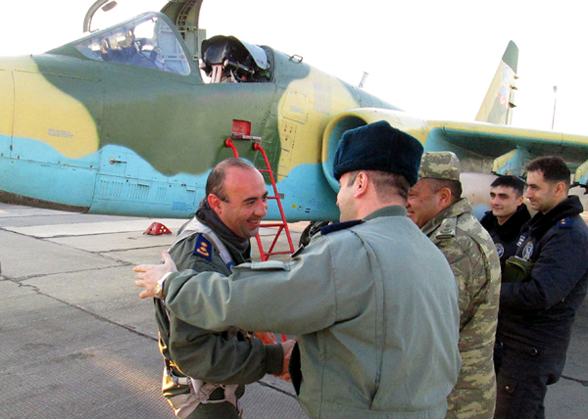 Aircraft of Azerbaijani air force return from Turkey (PHOTO) - Gallery Image