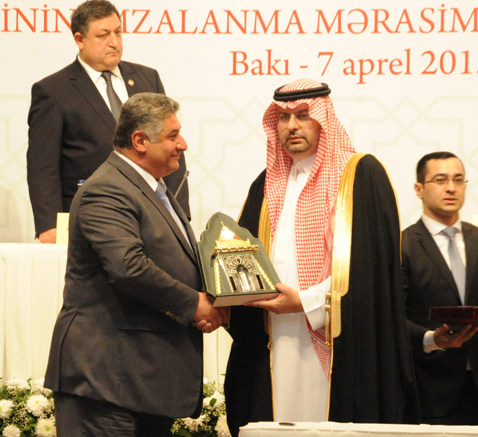 Ceremony of signing contract to hold IV Islamiada in Azerbaijan takes place (PHOTO) - Gallery Image