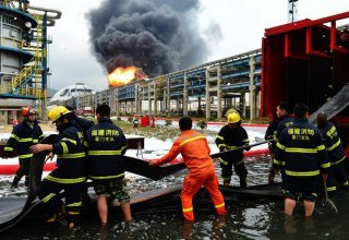 Eight missing in Shanghai factory fire