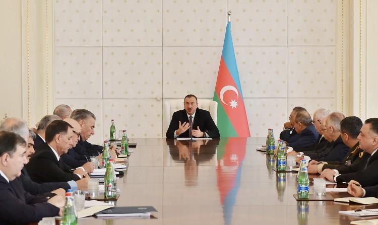 Президент Азербайджана обозначил главные задачи по продовольственной безопасности