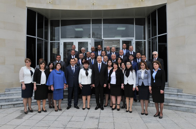 President Ilham Aliyev reviewed the Culture Center in Lankaran after major overhaul (PHOTO) - Gallery Image