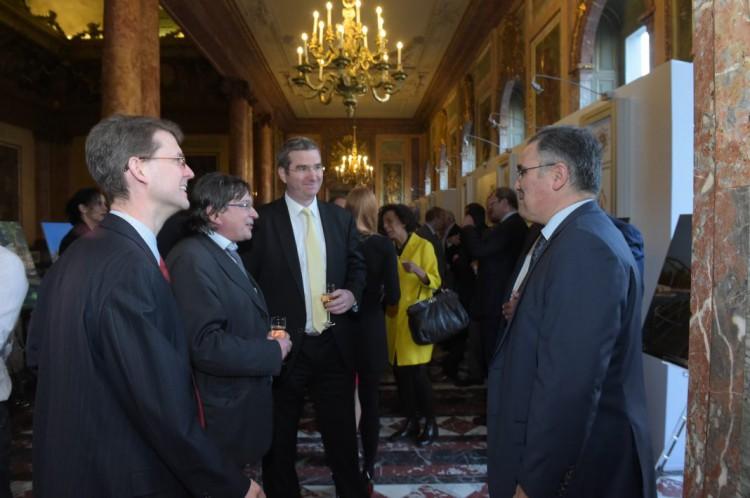 """Heydər Əliyev Fondunun təşkilatçılığı ilə """"Bakı-2015"""" Brüsseldə təqdim olunub (FOTO) - Gallery Image"""
