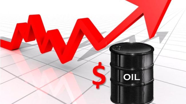 World oil prices rising amid decline in US output