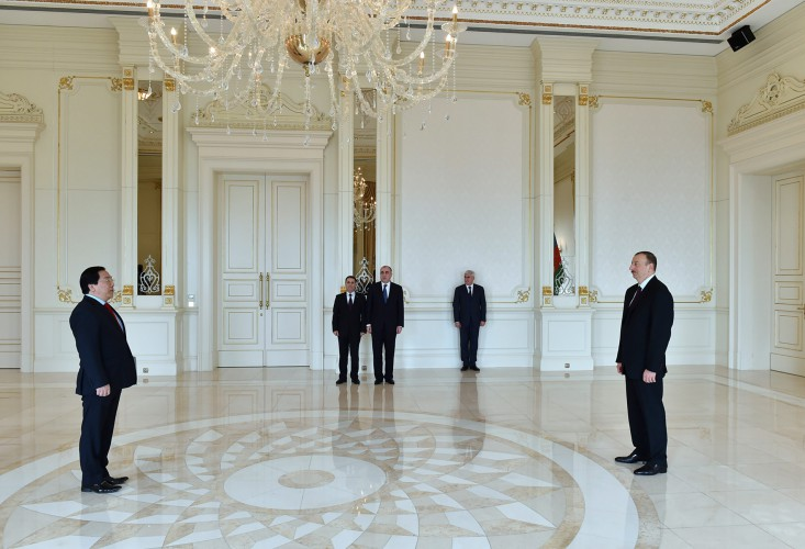 Azerbaijan, Kazakhstan have mutual understanding on cooperation in Caspian Sea - President Aliyev - Gallery Image