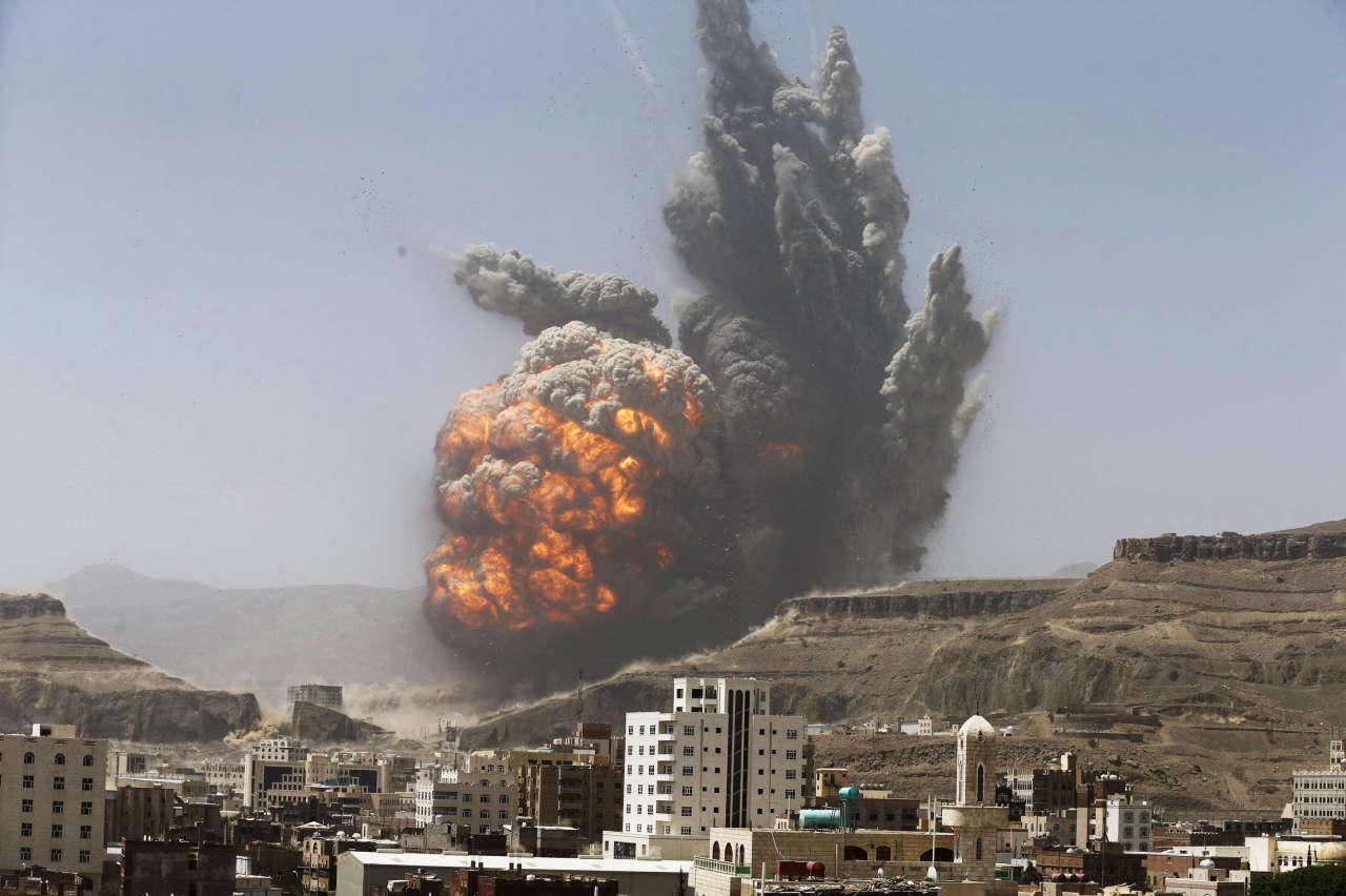 Two explosions hit Yemeni capital Sanaa