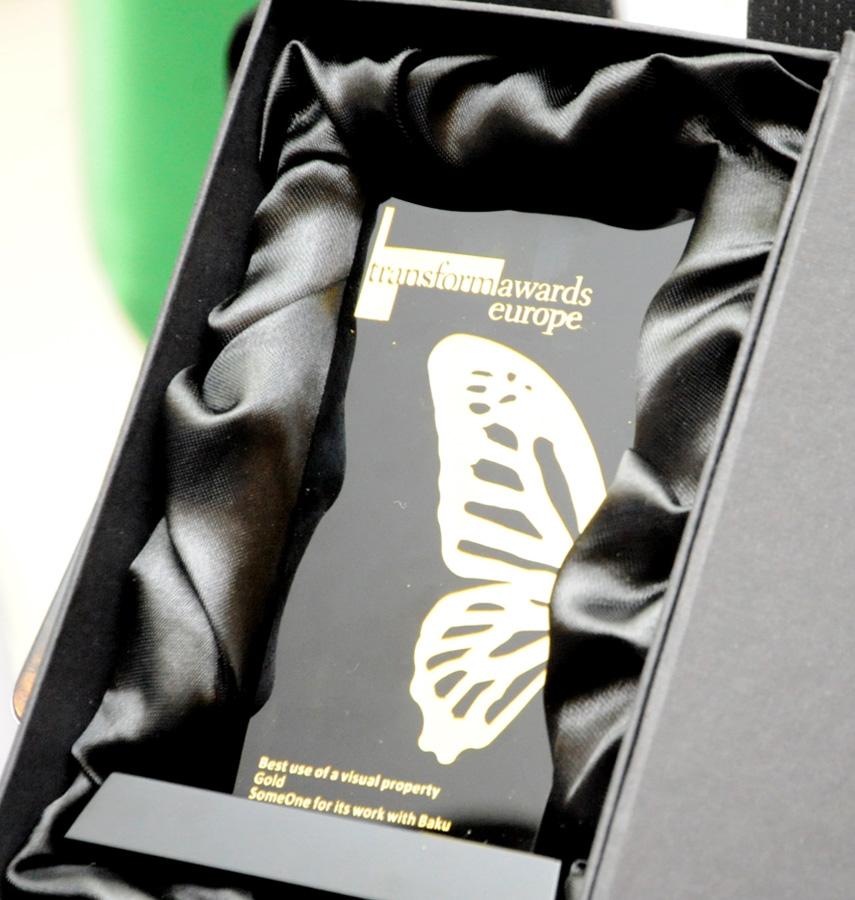 European Transform Award presented to Azerbaijan