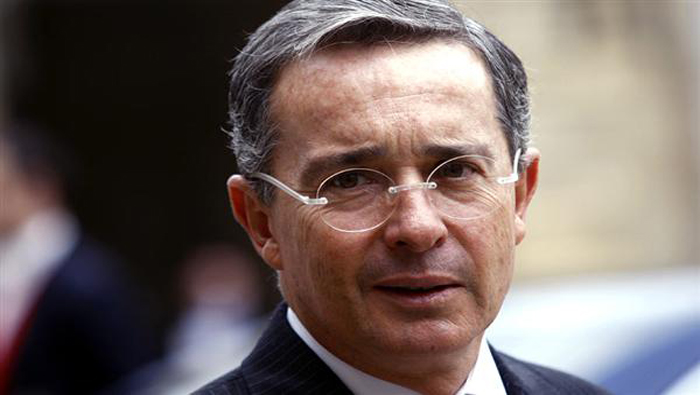 Colombian ex-president Uribe resigns Senate seat amid witness tampering probe