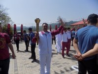 European Games torch delivered in Lerik - Gallery Thumbnail