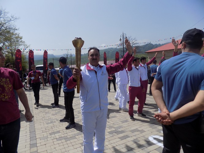 European Games torch delivered in Lerik - Gallery Image