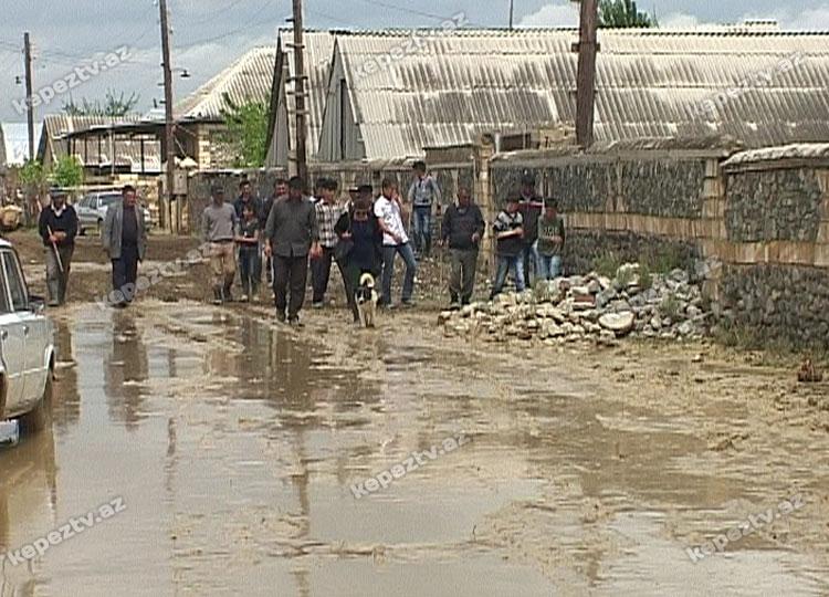 Sel suları Samuxun 8 kəndində fəsadlar törədib (FOTO)