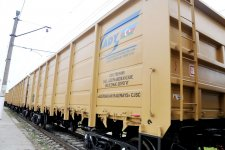 Azerbaijan receives new batch of freight cars - Gallery Thumbnail