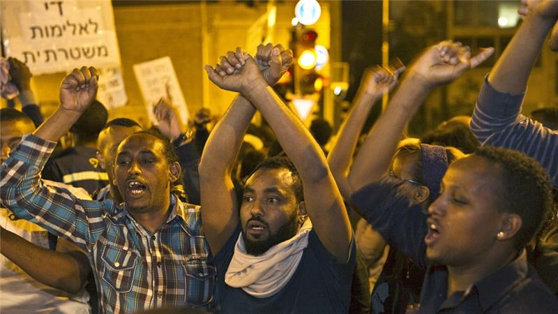Israel's Ethiopian Jews rally against police brutality