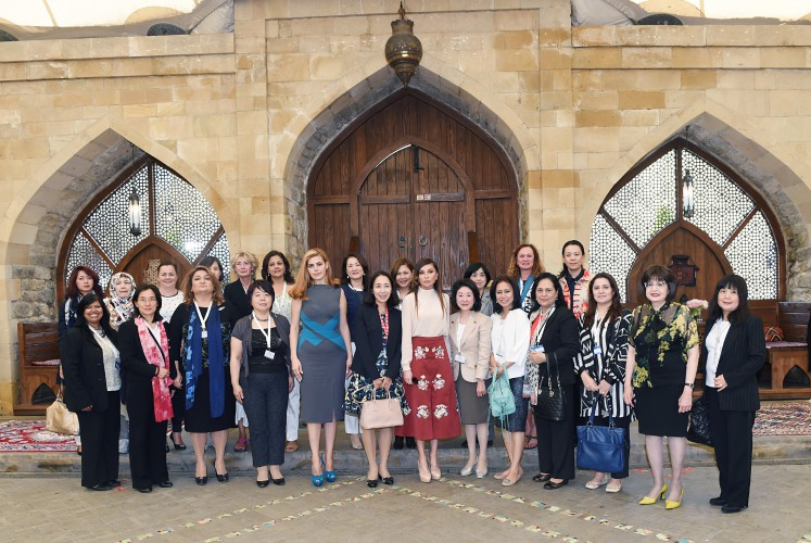 Dinner reception hosted on behalf of Mehriban Aliyeva in honour of spouses of participants of ADB Governors' 48th Annual Meeting - Gallery Image